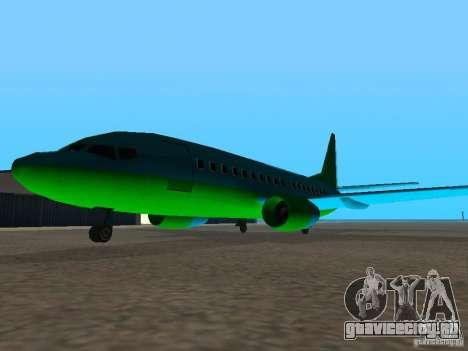 AT-400 во всех аэропортах для GTA San Andreas третий скриншот