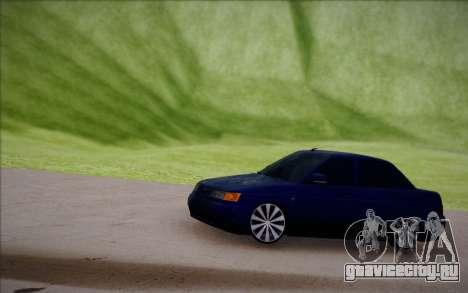 ВАЗ 2110 Качественная для GTA San Andreas вид изнутри