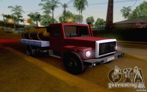 ГАЗ 3309 Молоковоз для GTA San Andreas вид слева