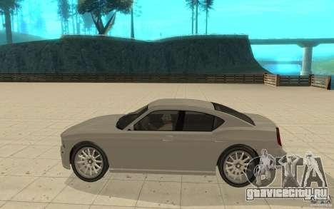 FIB Buffalo из GTA 4 для GTA San Andreas вид слева