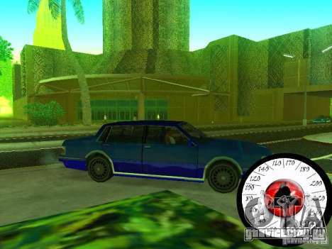 Новый Cпидометр для GTA San Andreas
