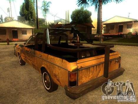 Regina War для GTA San Andreas вид справа