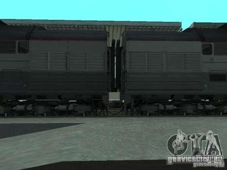 2ТЭ116 РЖД для GTA San Andreas