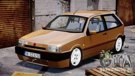 Fiat Tipo 1990 для GTA 4 вид сзади
