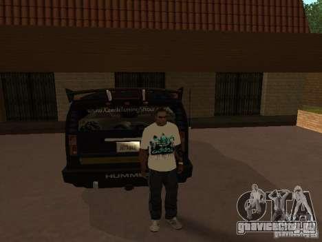 Майка Аdidas для GTA San Andreas третий скриншот