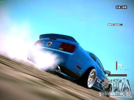 Ford Shelby GT500 Falken Tire Justin Pawlak 2012 для GTA San Andreas вид слева