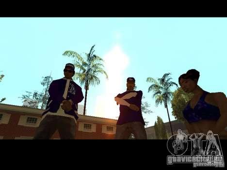 Piru Street Crips для GTA San Andreas восьмой скриншот