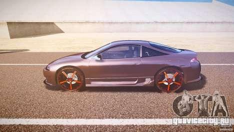 Mitsubishi Eclipse Tuning 1999 для GTA 4 вид слева