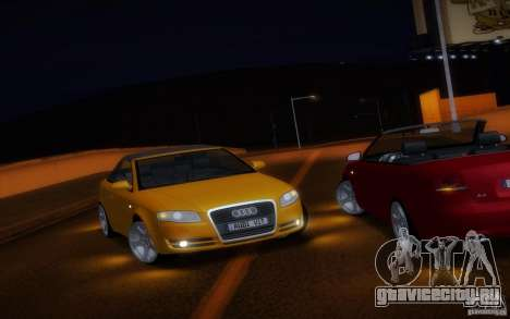 Audi A4 Cabrio для GTA San Andreas вид сбоку