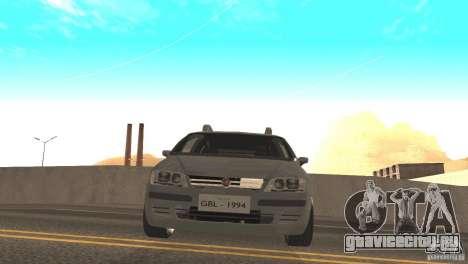 Fiat Idea HLX для GTA San Andreas вид сзади слева