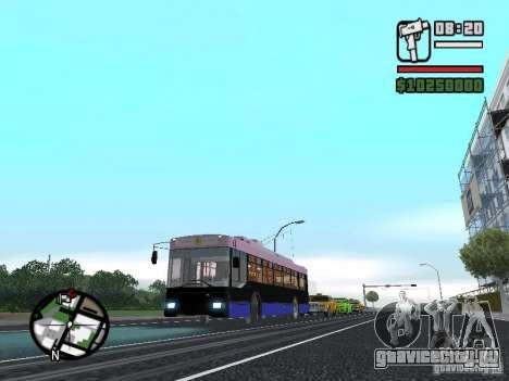 Тролза 5275 Оптима для GTA San Andreas вид справа