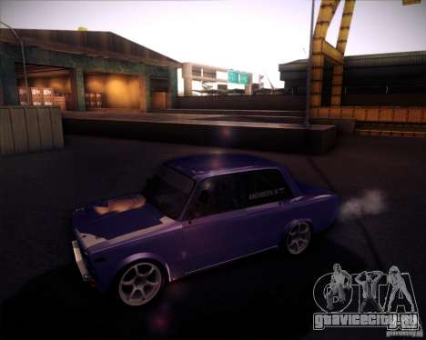 ВАЗ 2106 drift для GTA San Andreas вид справа
