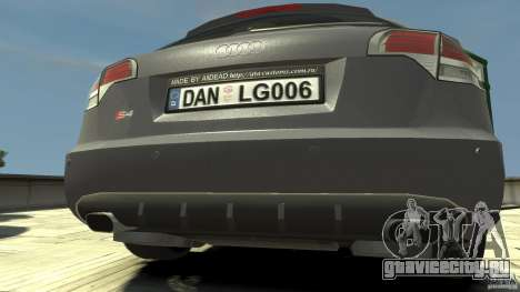 Audi A4 Avant beta для GTA 4 вид справа