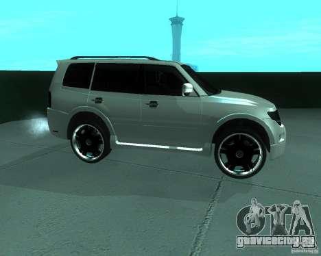 Mitsubishi Pajero STR I для GTA San Andreas вид слева