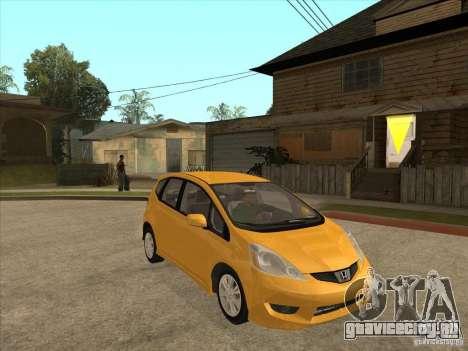 Honda Jazz (Fit) для GTA San Andreas вид сзади