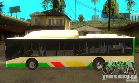 Mercedes Benz MAN Lions City CNG для GTA San Andreas вид слева