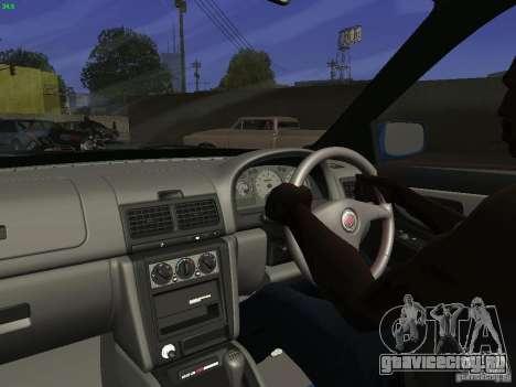 Subaru Impreza 22b Tunable для GTA San Andreas вид сзади