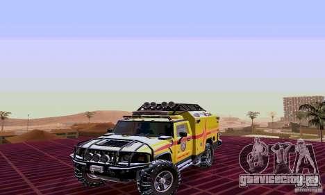 Hummer H2 Ambluance из Трансформеров для GTA San Andreas