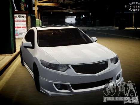 Honda Accord Mugen для GTA 4 вид сзади