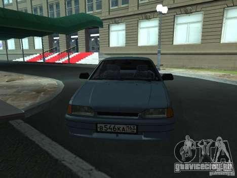 ВАЗ 2114 универсал для GTA San Andreas вид справа