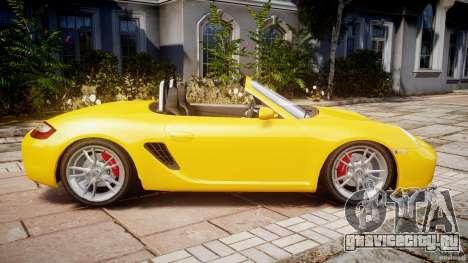 Porsche Boxster S для GTA 4 вид слева