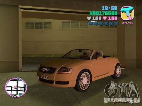 Audi TT ROADSTER для GTA Vice City