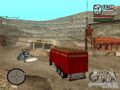 Ford Cargo 3227 для GTA San Andreas вид слева