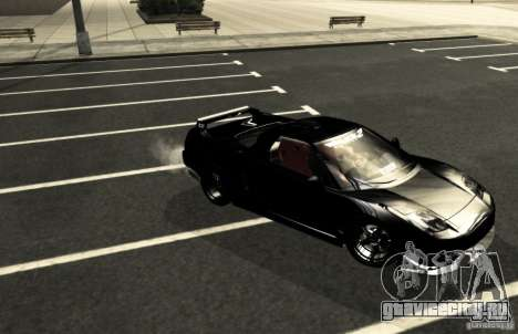 Acura NSX Tuned для GTA San Andreas вид сверху