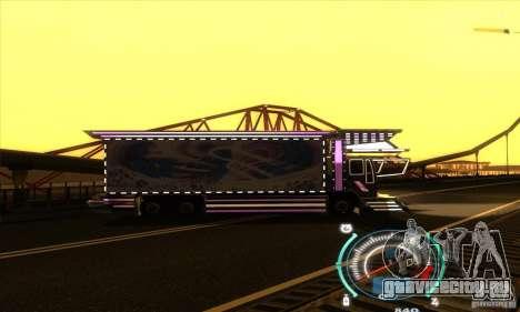 Японский грузовичок для GTA San Andreas вид справа