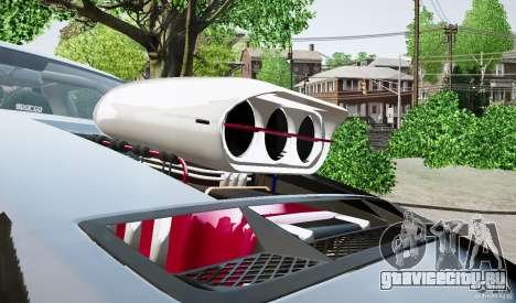 Ford Shelby GT500 для GTA 4 вид сзади слева