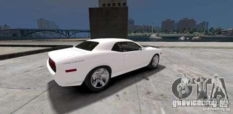 Dodge Challenger 2006 для GTA 4 вид справа