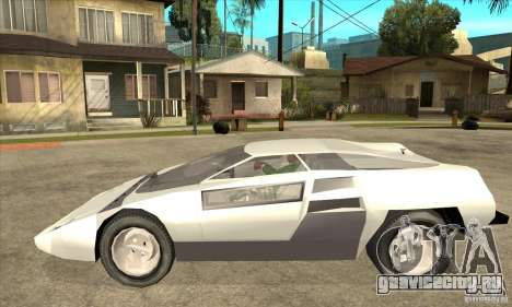 Dome Zero для GTA San Andreas вид слева