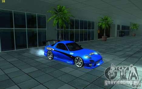 Mazda Rx7 C-West для GTA San Andreas вид слева