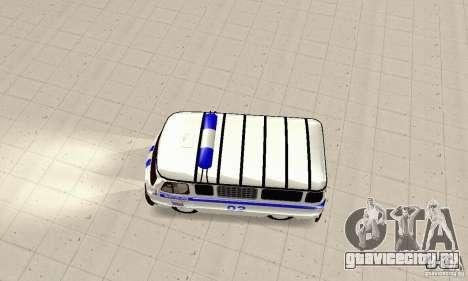 УАЗ Милиция для GTA San Andreas вид справа