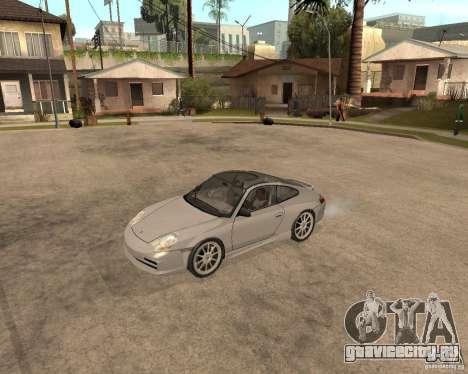 Porsche 911 TARGA для GTA San Andreas вид сзади слева