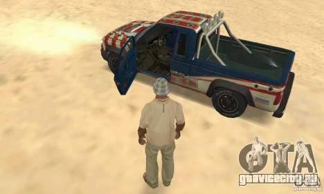 Nevada v1.0 FlatOut 2 для GTA San Andreas вид сзади