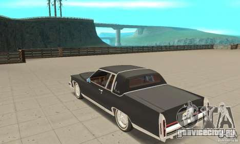 Cadillac Coupe DeVille 1985 для GTA San Andreas