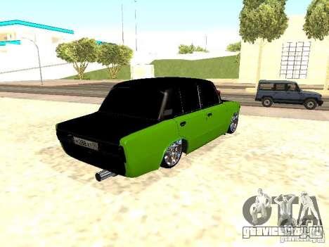 ВАЗ 2106 HUlK для GTA San Andreas вид справа