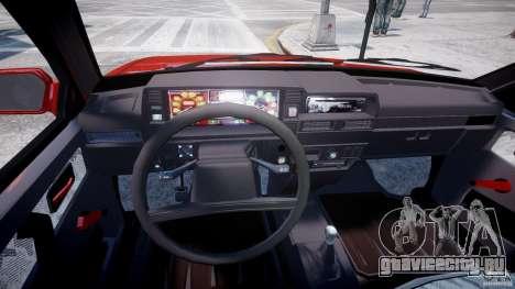 ВАЗ-21093i для GTA 4 вид сзади