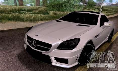 Mercedes Benz SLK55 R172 AMG для GTA San Andreas вид справа