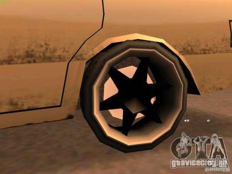 New Perennial для GTA San Andreas вид сзади