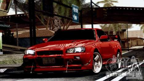ENB By Wondo для GTA San Andreas восьмой скриншот
