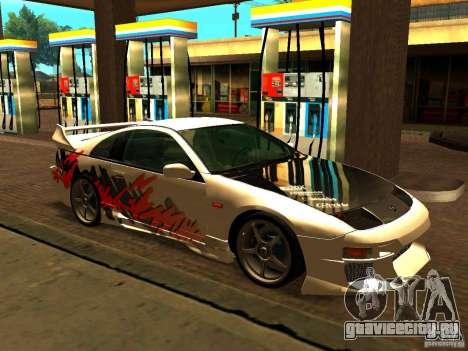 Nissan 300ZX для GTA San Andreas вид сбоку