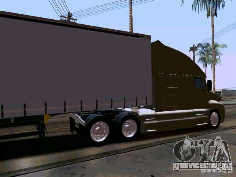 Kenworth T2000 v.2 для GTA San Andreas вид справа