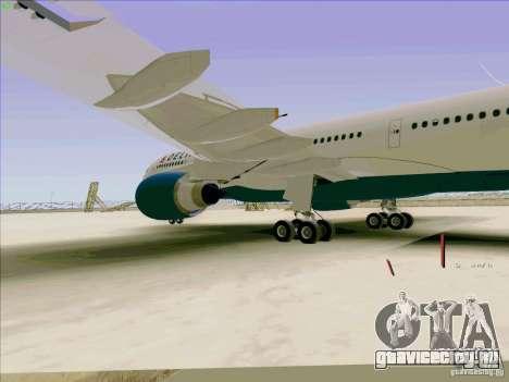 Airbus A330-200 для GTA San Andreas вид изнутри