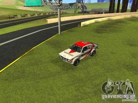 Opel Kadett для GTA San Andreas колёса