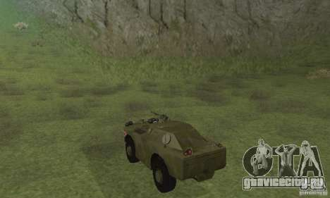 БРДМ-1 Скин 4 для GTA San Andreas вид справа