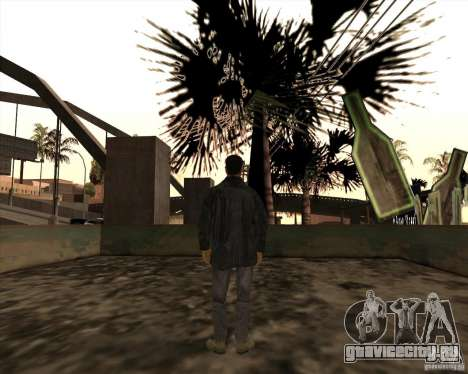 Белые Грувы для GTA San Andreas четвёртый скриншот
