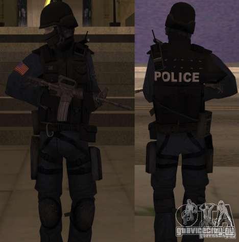 SWAT Officer для GTA San Andreas