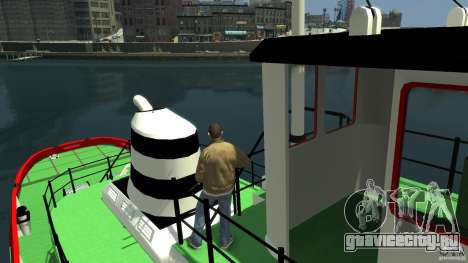 TUG Texture and Handling для GTA 4 вид сзади